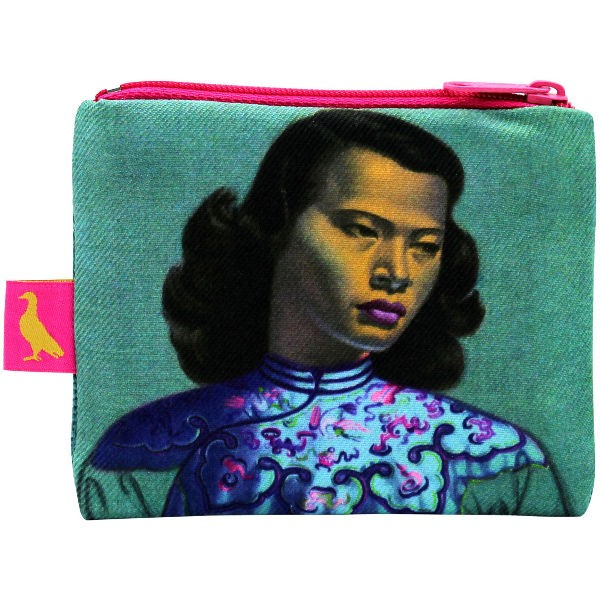 Tretchikoff Coin Purse Chinese Girl türkis