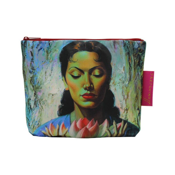 Cosmetic Bag LADY WITH LOTUS