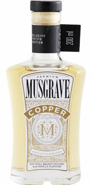 Musgrave Copper Vanilla Brandy (200ml)