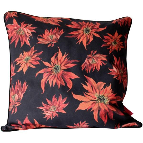 Tretchikoff - Kissenbezug Leinen Red Poinsettia