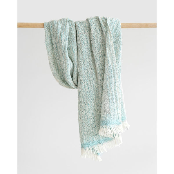contemporary scarf - TEAL