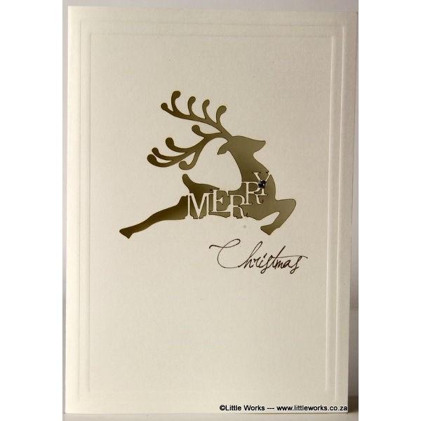 """Grußkarte """"Reindeer"""""""