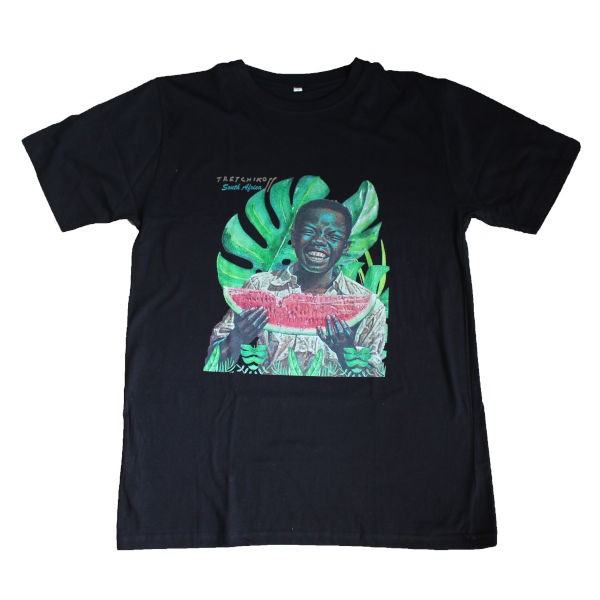 T-Shirt MELON BOY & PALM LEAF
