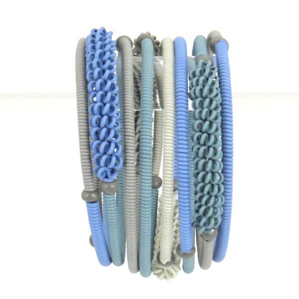 """Armband """"Scoobie - Wrapped Spiral"""" - 8 coils"""