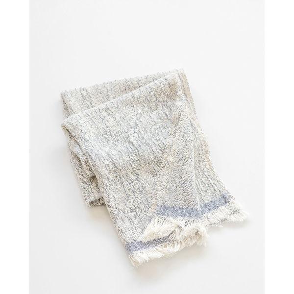 contemporary scarf - INDIGO