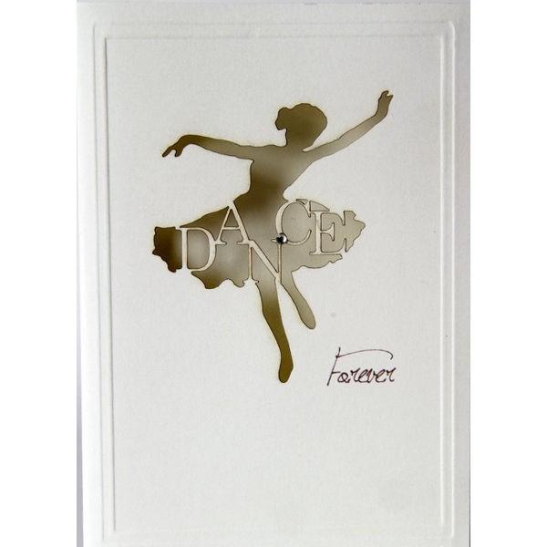 "Grußkarte ""Dance forever"""
