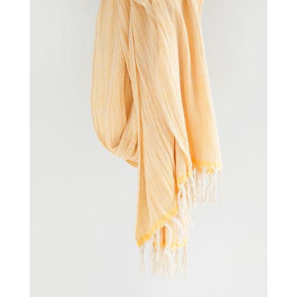 contemporary shawl - YELLOW
