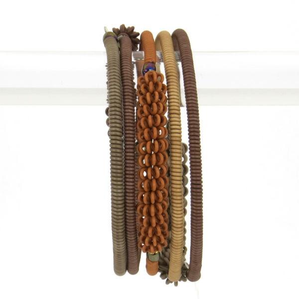 """Armband """"Scoobie Half Spiral """" - 4 coils"""