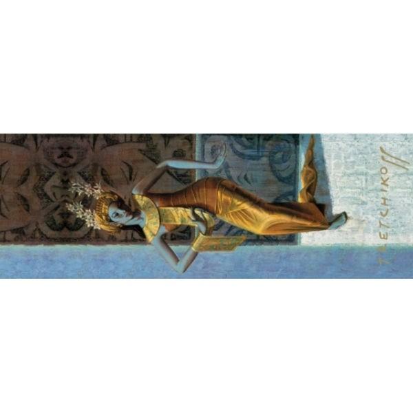 "Tretchikoff Yoga-Matte ""Balinese Dancer"""