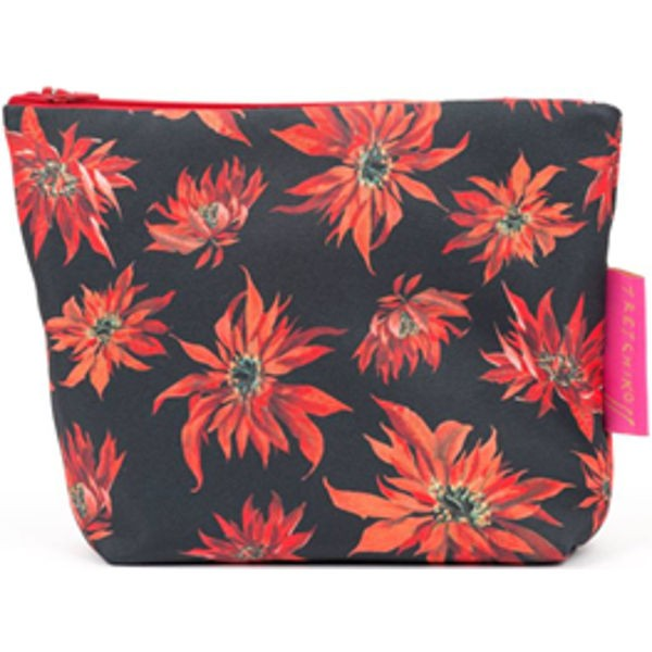 Cosmetic Bag RED POINSETTIA