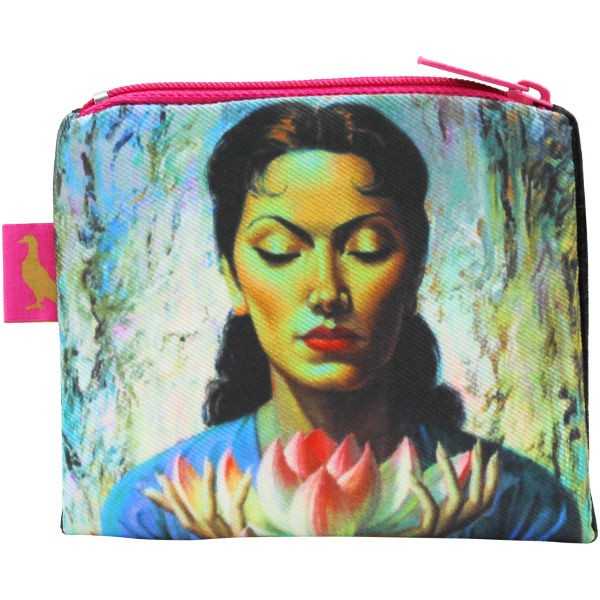 Tretchikoff Coin Purse Lady with Lotus