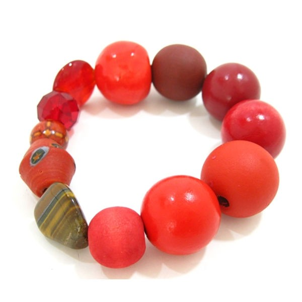 Armband Betty Boo Poppy Red