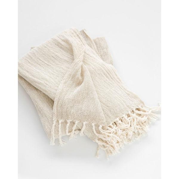 contemporary shawl - STONE
