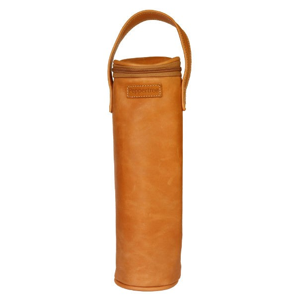 Peppertree Single Wine Cooler Bag - leather