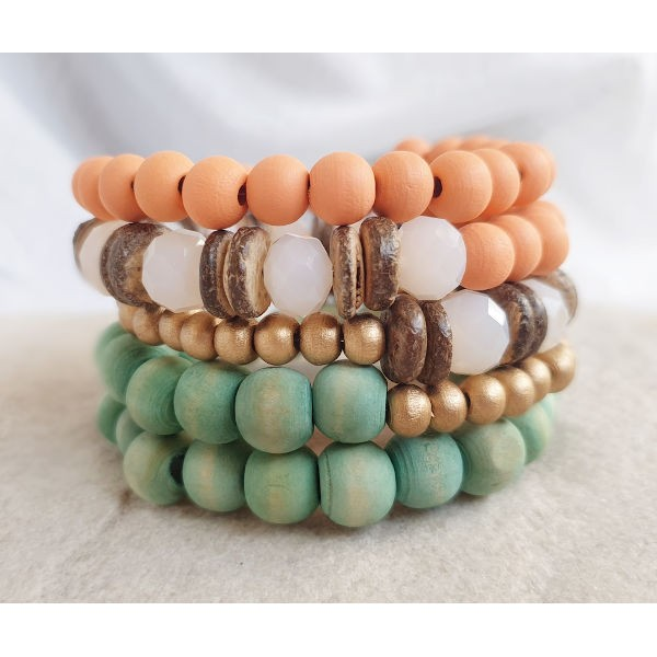 Armband Coil Mini CORAL REEF