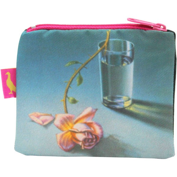 Tretchikoff Coin Purse Weeping Rose