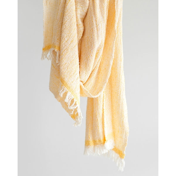 contemporary scarf - YELLOW