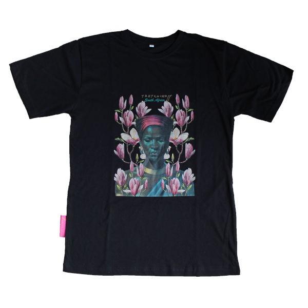 T-Shirt ZULU GIRL & PINK MAGNOLIAS