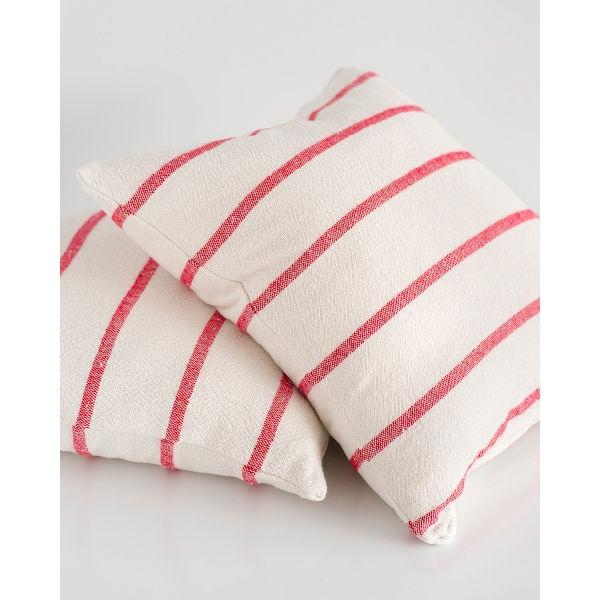 country cushion cover - RED