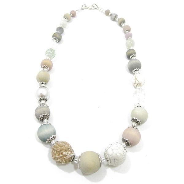 Halskette Floral Glam Pistachio