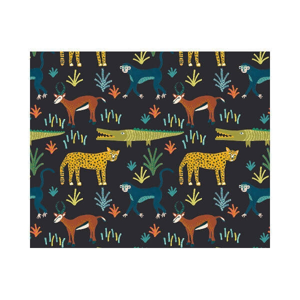 Design Team Meterware - KIDS SAFARI CHARCOAL