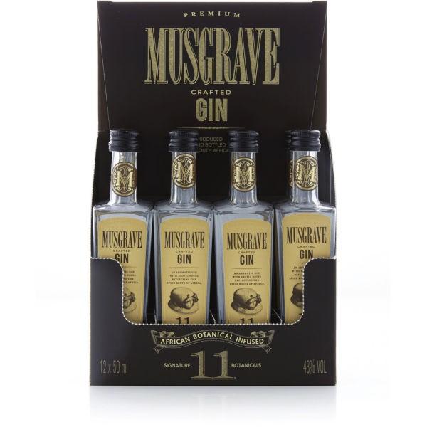 Musgrave 11 Botanicals Gin MINI