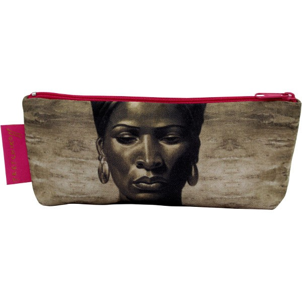 Tretchikoff Make-up Purse Zulu Girl Sepia