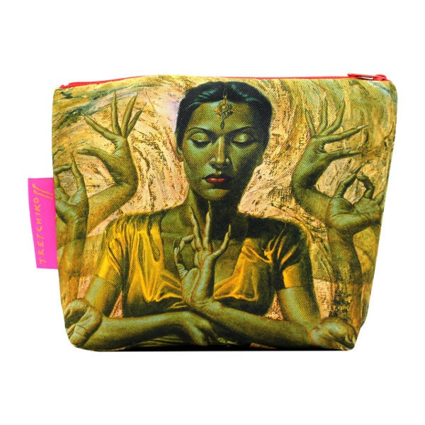 Tretchikoff Cosmetic Bag Hindu Dancer