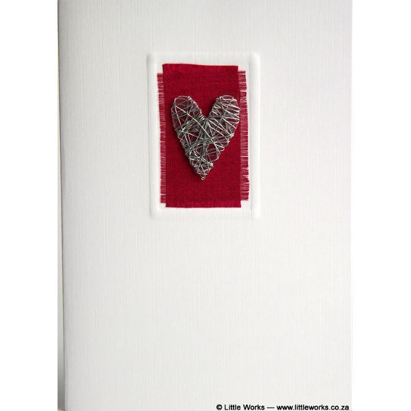 "Grußkarte ""Heart"""