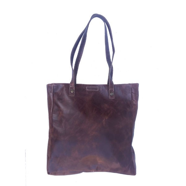 Peppertree Country Shopper Bag - leather