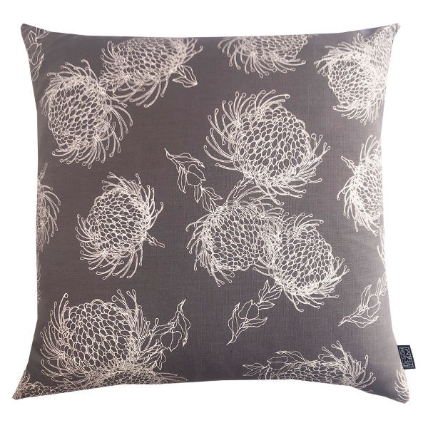 Peppertree Kissenbezug 60X60 - GARDEN BLOOM GREY